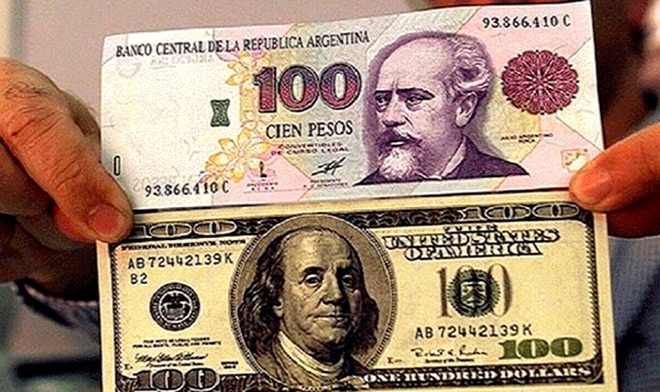 Argentine Peso Exchange On 4 July 2019